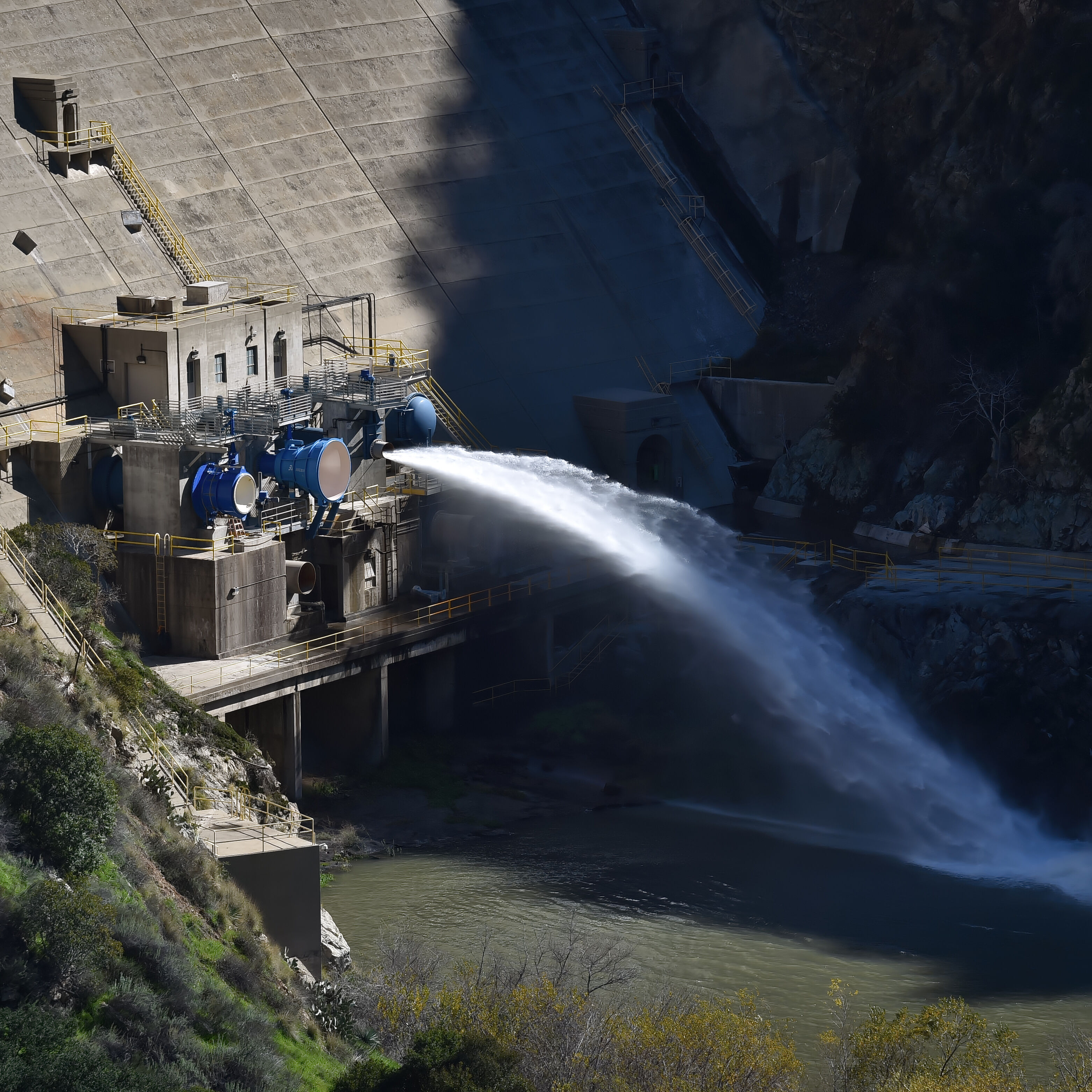 Morris Dam. Photo by Steven Georges
